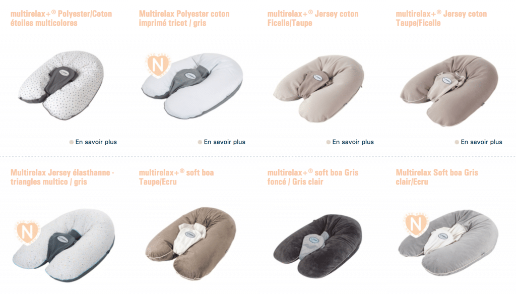 coloris multirelax candide