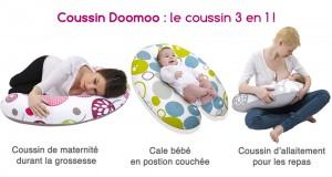 coussin d 39 allaitement doomoo babymoov test avis. Black Bedroom Furniture Sets. Home Design Ideas